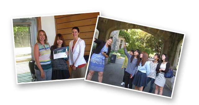 夏季ロイヤルローズ大学海外インターンシップ(カナダ/ヴィクトリア)